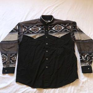 Vintage Panhandle Slim Western Shirt